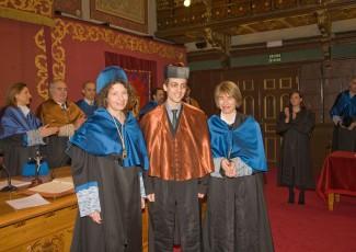 Acto de Investidura de los nuevos graduados de la Facultad de Ingeniería