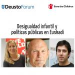DeustoForum. Juan José Ibarretxe, Eva Silván y Gorka Urrutia: