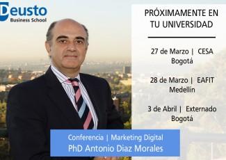 Deusto Business School presentará su oferta de postgrados en la Universidad CESA en Bogotá