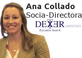 Ciclo #DISRUPTIVE con Ana Collado, Socia-Directora de Dexter Associates