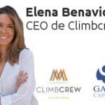 Ciclo #DISRUPTIVE con Elena Benavides, CEO de Climbcrew
