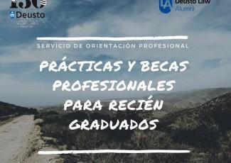 """Taller del SOP sobre """"Prácticas y becas para recién graduados"""""""