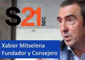 #DISRUPTIVE zikloa Xabier Mitxelenarekin, S21sec enpresako Fundatzailea eta CEOa