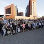 Recepción de bienvenida del campus de San Sebastián de la Universidad de Deusto a sus alumnos internacionales
