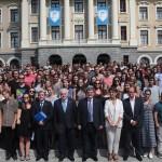 El Alcalde de Bilbao recibe a los 400 alumnos internacionales que estudiarán en el campus de Bilbao durante el primer semestre