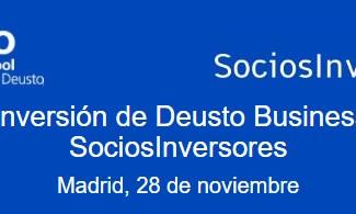 I Foro de Inversión de Deusto Business School y SociosInversores