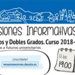 Sesiones informativas. Educación Social + Trabajo Social
