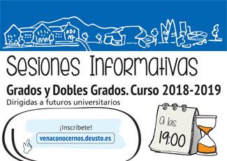 Sesiones Informativas: Administración y Dirección de Empresas (ADE) + Ingeniería Informática