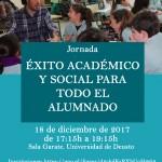"""Jornada """"Éxito académico y social para todo el alumnado"""""""