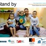 """Inauguración de Stand by, una exposición sobre el drama de las familias refugiadas sirias """"en tierra de nadie"""""""