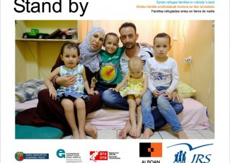 Opening of Stand by, an exhibition on the drama of Syrian refugee families in No Man's Land