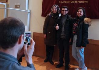 Jornada de acogida a los nuevos estudiantes internacionales del 2º semestre académico