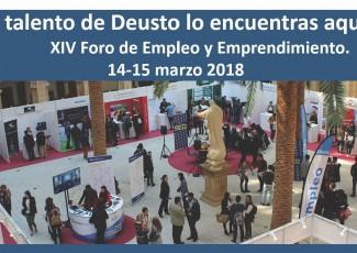 XIV edición Foro Empleo y Emprendimiento Deusto