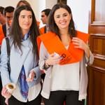 Acto de investidura del Grado en ADE+Programa en Desarrollo Directivo en el Campus de Bilbao