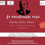 La revolución rusa. Conferencia a cargo de Carlos Aitor Yuste