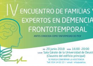 Presentación de la guía para cuidadores de perdonas con ELA en el IV Encuentro de familias y expertos en demencia frontotemporal