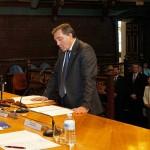 Toma de posesión de nuevos vicerrectores, decanos y secretaria general de la Universidad