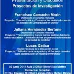 Presentación y Discusión  Proyectos de Investigación