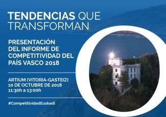 Tendencias que transforman. Presentación del informe de competitividad del País Vasco 2018