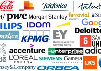 Empresas que participan en la International Internship Fair