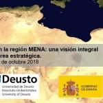 """""""Seguridad y desarrollo en la región MENA:  una visión integral en un área estratégica""""."""