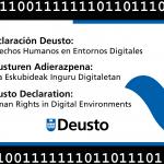 Declaración Deusto: Derechos Humanos en Entornos Digitales