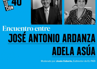 Konstituzioa: 40 urte. Jose Antonio Ardantzaren eta Adela Asuaren arteko topaketa