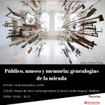 Público, museo y memoria: genealogías de la mirada