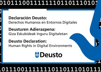 Presentación de la Declaración sobre derechos humanos en entornos digitales de la Universidad de Deusto