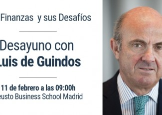 Desayuno con Luis de Guindos: Las finanzas y sus desafíos