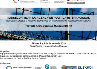 (De)securitizar la agenda de Política Internacional.  Narrativas, efectos y visiones alternativas en las políticas de seguridad internacional
