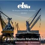ELSA Deusto Maritime event: Mercado y medio ambiente