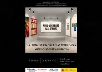 Seminario de investigación de la Cátedra Ocio y Conocimiento y Publicum: La (video)ludificación de las experiencias museísticas: teoría y práctica