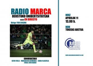 Radio Marca en la Universidad de Deusto