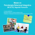 Master's in Relational Integrative Psychotherapy  (60 ECTS).