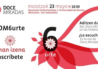 6º aniversario de Doce Miradas