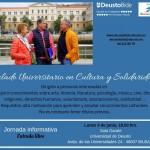 Kultura eta Elkartasuneko Unibertsitate Tituluari buruzko informazio jardunaldia