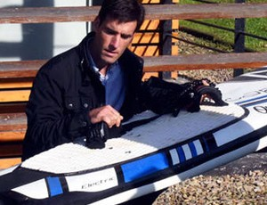 Iñigo Sobradillo, fundador de Aquila Boards
