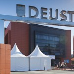Jornada de acogida de los nuevos estudiantes de Deusto Business School en el campus de San Sebastián