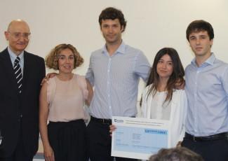 Acto de entrega del Premio Sebastián Iruretagoyena al mejor Trabajo de Fin de Grado en ADE organizado por Deusto Business School