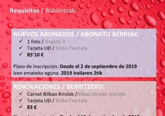 Abierto el plazo para la inscripción Bilbao Kirolak