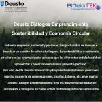 Deusto Diálogos Emprendimiento y Economía circular