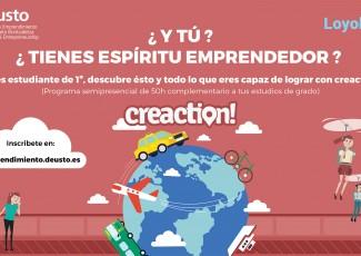 Jornada de presentación del Viaje Emprendedor creaction!