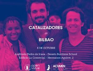 Katalizatzaileak Bilbon: Acumen Fellows programaren aurkezpena
