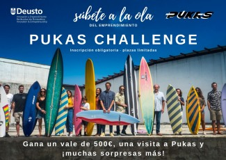 Ekintzailetzako Astea 2019: Pukas Challenge