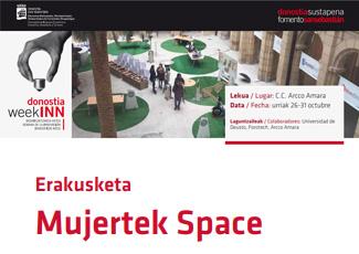 Exposición Mujertek Space