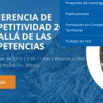 Conferencia de Competitividad del País Vasco 2019: Más allá de las competencias