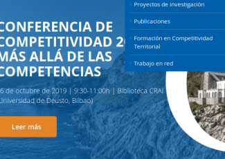 Basque Competitiveness Conference 2019: Beyond competences