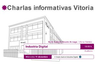 Charlas informativas Vitoria: Industria Digital