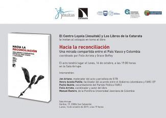 Presentación del libro 'Hacia la reconciliación'